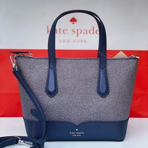 Kate Spade Lola Glitter Satchel Crossbody bag